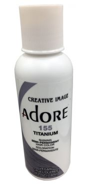 Adore hair dye colour 155 Titanium