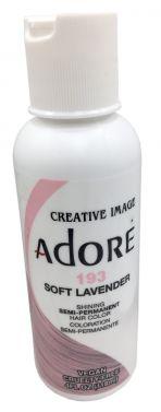 ADORE SEMI PERMANENT HAIR dye COLOUR 193 Soft Lavender