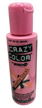 Crazy color 70 peachy coral  hair color