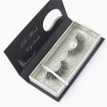 Mink Fur Natural Eye Lashes 001 Super Light Weight